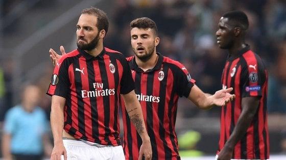 Europa League, Milan-Betis 1-2: per Gattuso primo ko in Europa