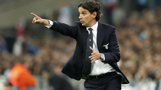 """Lazio, Inzaghi: """"Serata importante, ora testa all'Inter"""""""