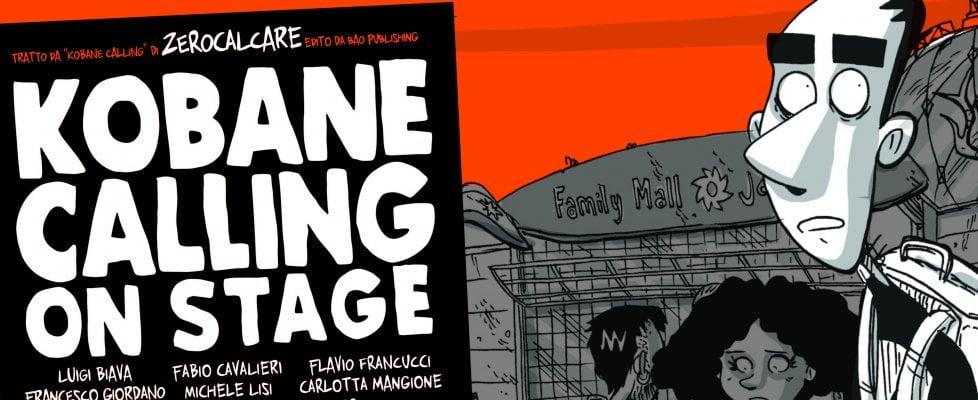 """'Kobane Calling' di Zerocalcare ora è uno spettacolo 'On Stage': """"Un dialogo tra teatro e fumetto"""""""
