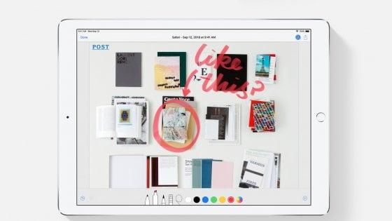 Apple, pronto un iPad a tutto schermo. E arrivano anche i nuovi Mac