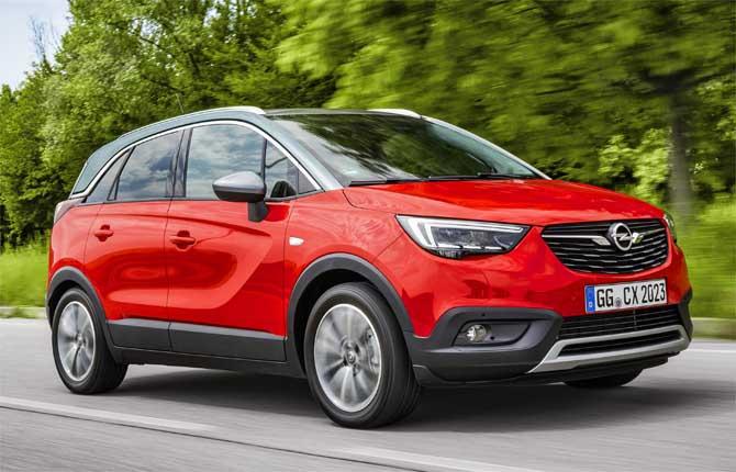 Opel, più scelta nella gamma Crossland X