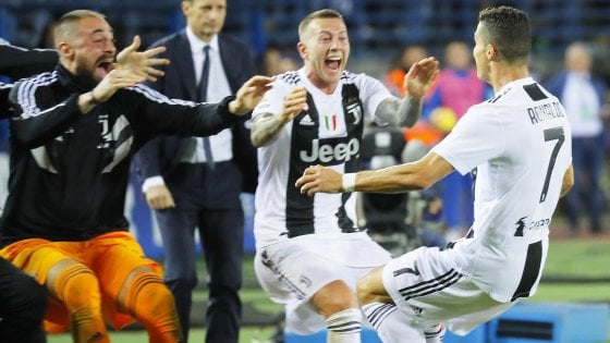 Empoli-Juventus 1-2, Cristiano Ronaldo firma la rimonta