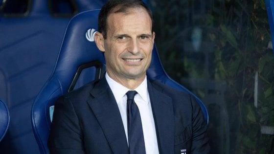 "Juventus, Allegri: ""Eravamo un po' stanchi, ma vittoria meritata"""
