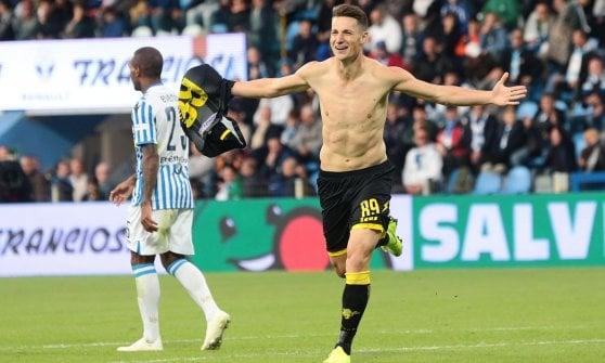 Spal-Frosinone 0-3: Chibsah, Ciano e Pinamonti firmano la prima vittoria dei ciociari