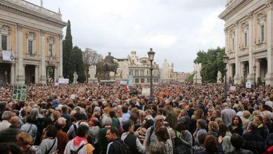 Il M5S attacca Repubblica per le notizie sulla manifestazione anti Raggi. Noi continueremo a raccontare la verità