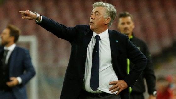 """Napoli, Ancelotti: """"Contento della prestazione, Fabian Ruiz grande acquisto"""""""