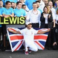 Formula 1, Gp del Messico: Hamilton campione del mondo per la quinta volta