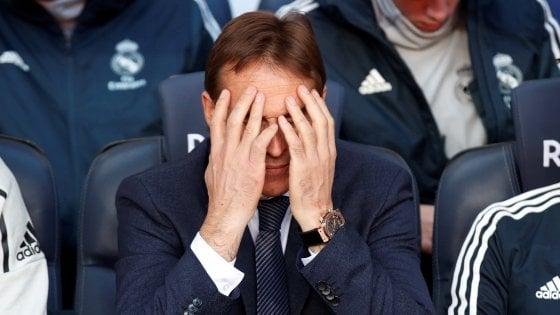 Real Madrid, esonerato Lopetegui. Solari sarà il traghettatore