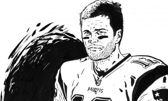 Nfl, Brady infinito: lancia, corre e blocca
