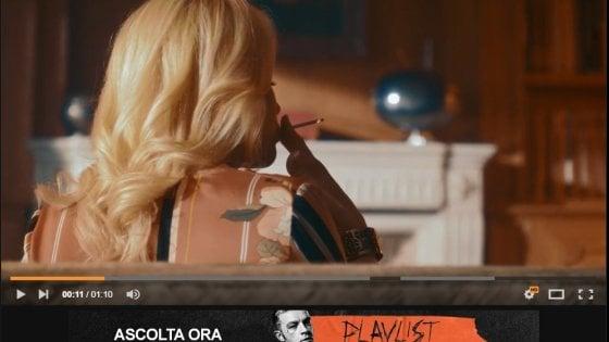 Il rapper Salmo pubblica il trailer del suo nuovo album su Pornhub