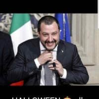 Le card anti Salvini di Francesca Pascale