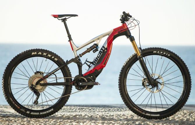 Mountain Bike Ducati Elettrica Ed Estrema Repubblicait