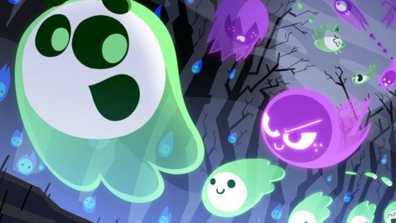 Il doodle di Halloween è il primo gioco cloud di Google