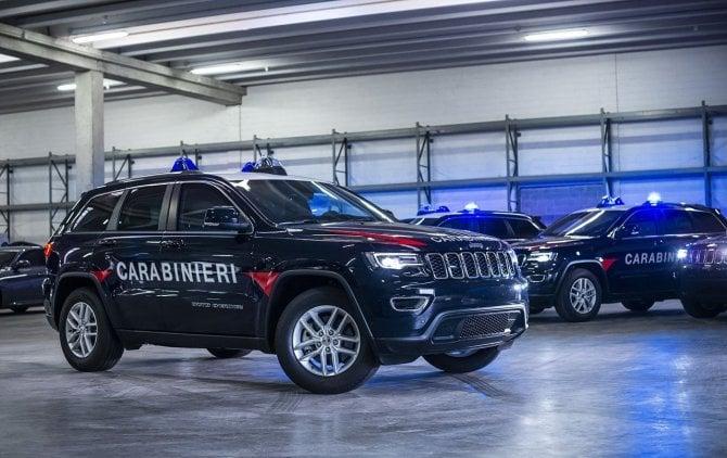 L'Arma dei Carabinieri arruola la Jeep Grand Cherokee
