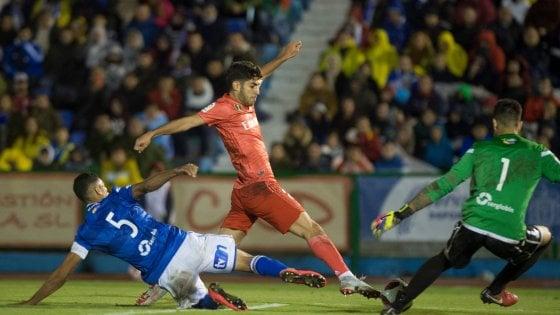 Solari, una prima senza scherzi: Real batte 4-0 il Melilla. Vince anche il Barça