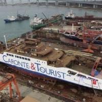 Ecco Elio, il primo traghetto che batte bandiera italiana a gas natuarale liquefatto