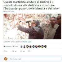 """Destra, Isabella Rauti contro Alemanno: """"Non sei degno di ricordare mio padre"""""""