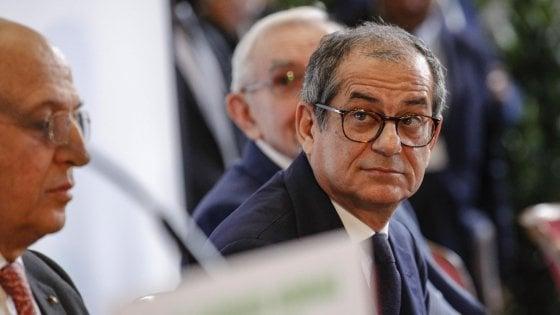 Il ministro dell'Economia, Giovanni Tria