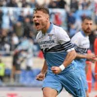 Lazio-Spal 4-1: doppietta di Immobile e gol di Antenucci, Cataldi e Parolo