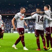 Sampdoria-Torino 1-4: granata padroni a Marassi, doppietta di Belotti e gol di Iago Falque e Izzo