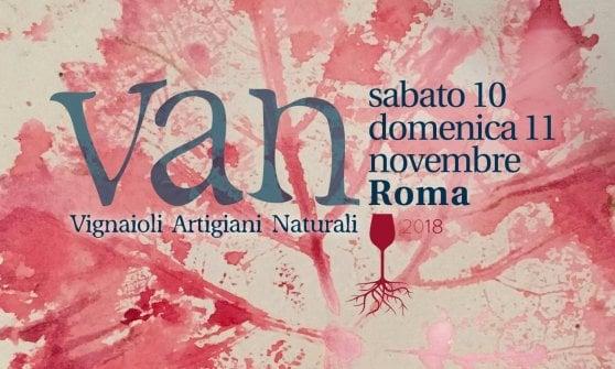 La marcia artigiana dei vignaioli: a Roma arriva Van, la festa dei vini naturali