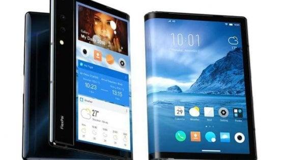 FlexPai, ecco il primo smartphone flessibile