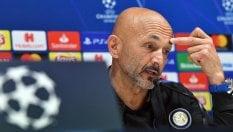Inter, Spalletti: ''Alla pari con tutti, dimostriamolo contro il Barcellona''