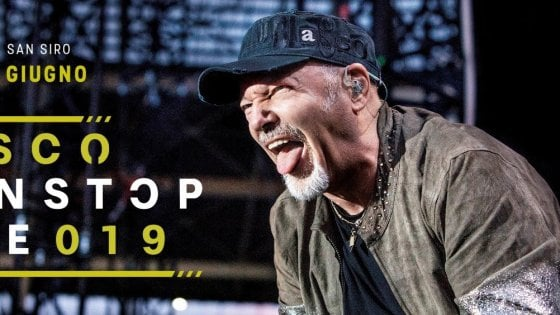 Vasco Rossi: in arrivo il NonStop Live 2019 a Milano e Cagliari