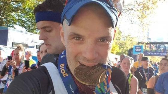 """""""Da cose brutte nascono cose stupende"""": la lotta di Maurizio fino alla Maratona di New York"""