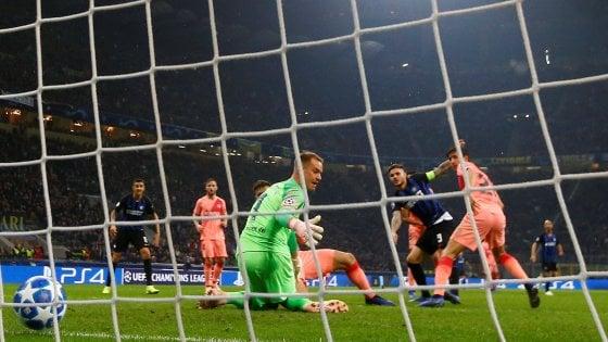 Inter-Barcellona 1-1: Icardi firma un pari d'oro