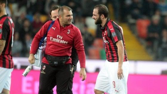Milan, niente Betis per Higuain: fiducia per la Juve