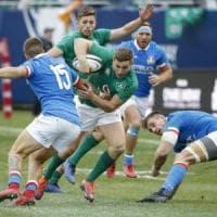 Rugby, l'inno dalla piazza sugli schermi: così la Georgia spaventa l'Italia
