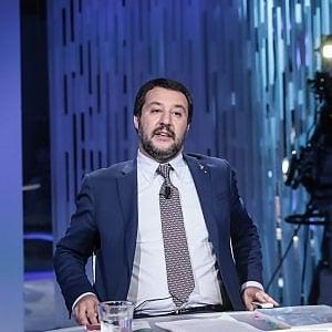 """Caso Isoardi, Salvini: """"Stasera dormo sereno da solo, non sono messo così male"""""""
