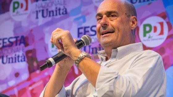 Primarie Pd, Zingaretti risponde ai sindaci di Minniti: 200 amministratori sono al suo fianco