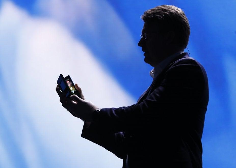 Samsung: ecco lo schermo pieghevole