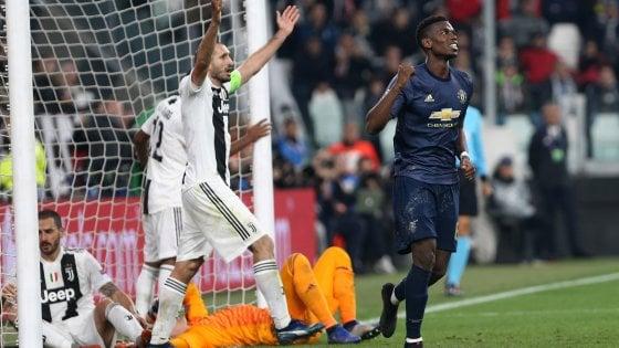 Juventus-Manchester United 1-2: gol fantastico di Ronaldo, poi la beffa finale
