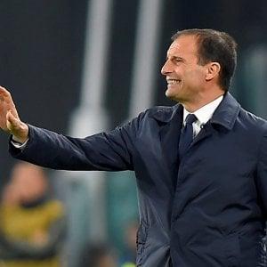 """Juventus, Allegri: """"Segnamo poco, è un problema"""". Mourinho: """"Mi hanno insultato per 90', ma ho sbagliato"""""""