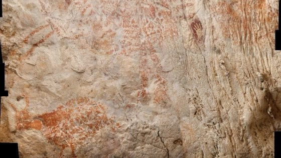 E' in Borneo il dipinto più antico del mondo: ha 40mila anni