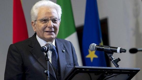 """Il richiamo di Mattarella: """"Possiamo crescere, dobbiamo ispirare fiducia"""" nell'Italia"""