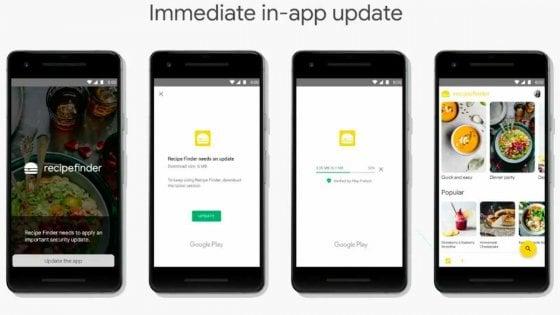 Android, le app si potranno usare mentre si aggiornano
