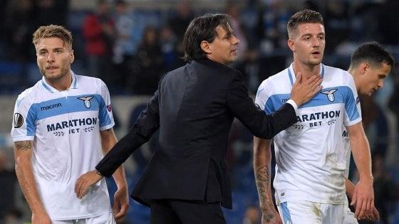 Lazio, Inzaghi: ''Bravi tutti, passare con due turni di anticipo grande risultato''