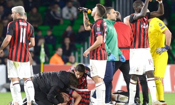European League, Betis-Milan 1-1: Suso holds the hope of Rossoneri alive