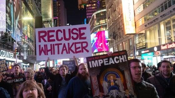 Russiagate, in migliaia in piazza negli Usa per difendere Mueller
