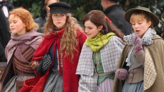 Tornano le 'Piccole donne': un nuovo film con Emma Watson, Meryl Streep e Laura Dern