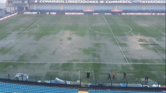 Maltempo e allagamenti, rinviata Boca-River: quando si gioca la finale di Libertadores