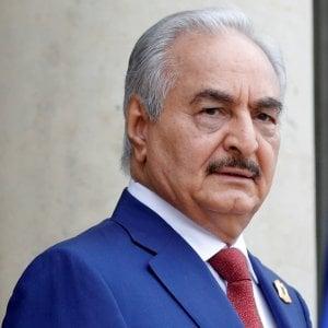 """Conferenza Libia, Haftar non sarà a Palermo. """"Al tavolo parti non gradite al maresciallo"""""""