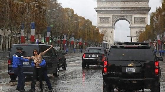 Macron ai leader, rifiutiamo insieme i nazionalismi dimensione font +