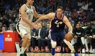 Basket, Nba: Gallinari e Belinelli sorridono, Golden State si riscatta
