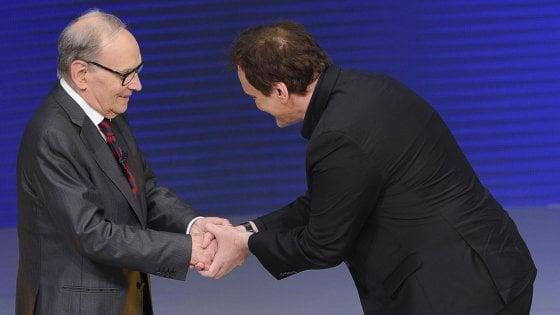 """Ennio Morricone su Quentin Tarantino: """"Mai detto che è un cretino, intervista inventata"""""""