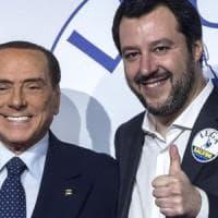 """Assoluzione Raggi e attacchi alla stampa. Berlusconi: """"Clima illiberale"""". Salvini:..."""